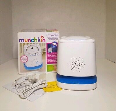 Munchkin Nursery Projector and Sound System, White (H100573)