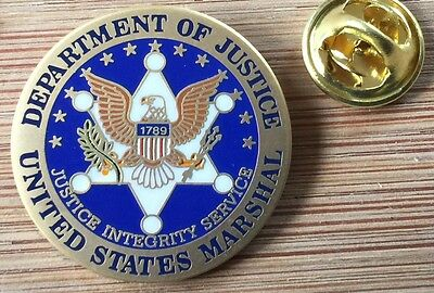 USMS - US Marshals Service SEAL Lapel Pin