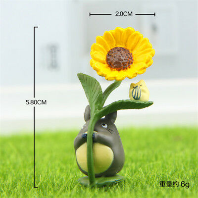 Studio Ghibli My Neighbor Totoro DIY Figure Display Toy Kids Gift Garden Decor