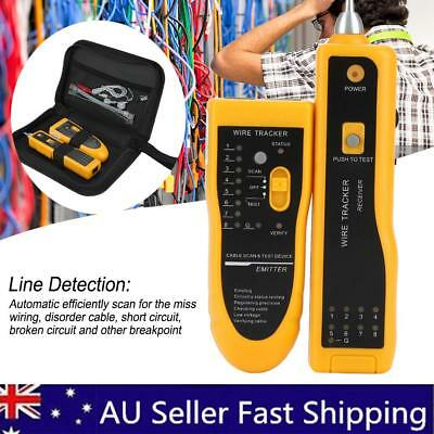Telephone Network Cable Wire Line Probe Tracker Tester Tone Generator Finder AU