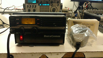 Kenwood TK-630H low band/ 6M radio with NEW KMC-14 Mic AND DuraComm LP-18 Supply