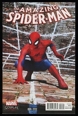 Amazing Spider-Man 1 Ltd 1 for 15 Retailer Incentive Variant Comic Cosplay Cover