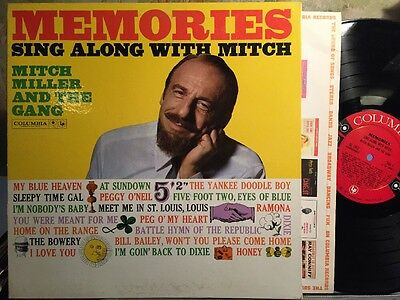 Mitch Miller And The Gang – Memories Sing Along With Mitch Ex Columbia Vinilo