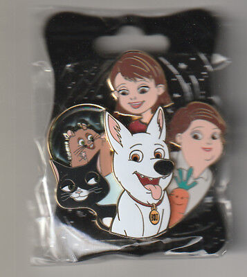 WDI Limited Edition 250 Disney Bolt Character Cluster Pin