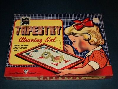 Vintage Priscilla Tapestry Weaving Set by Standard Toykraft