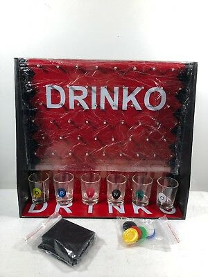 DRINKO NOVELTY DRINKING GAME Hilarious Funny Crazy Social Party Games
