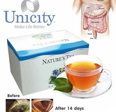 NATURE'S T INFUSION UNICITY, Herbal Tea Detoxification In The Colon 30 Tea Bags