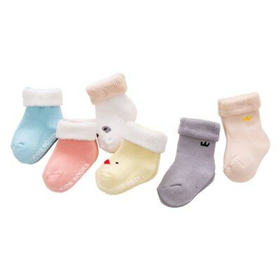 3 Pairs/Lot Winter Warm Baby Girls Boy SocksSpring Summer Newborn Baby Boy Socks