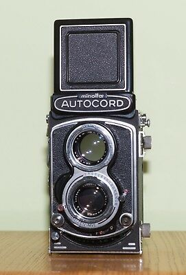 Minolta Autocord 6x6 TLR, nice and CLA'd with goodies