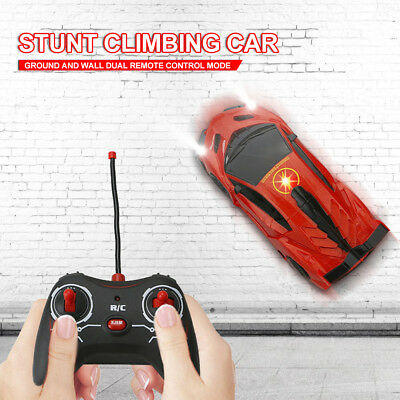 Wall Climbing Climber RC Racer Radio Remote Control Car Toy Xmas Gift For Kid VR