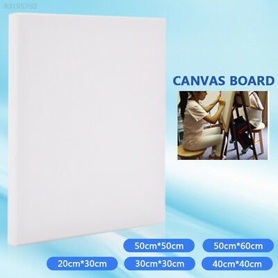 7F0F 151E Blank Artist Canvas Art Board Plain Painting Stretched Framed White