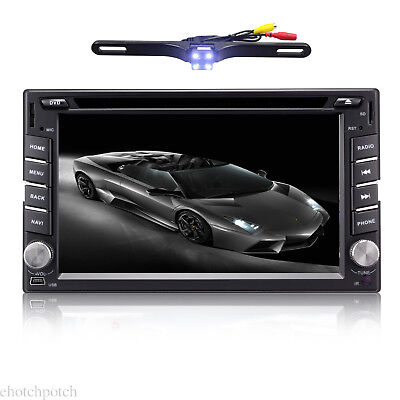"""6.2"""" 4Core Android 7.1 4G WIFI Double 2 DIN Car Radio Stereo DVD Player GPS OBD2"""