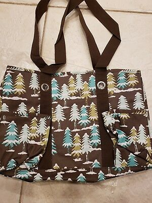 Thirty one organizing utility tote winter wonderland retired pattern new in bag