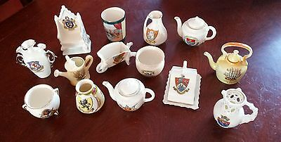 GEMMA- Job Lot of Collectable Crested China Ware Gemma X 12 and 2 others.