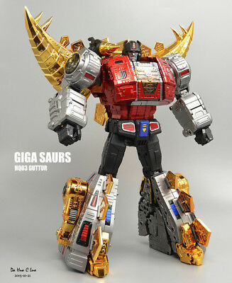 Gigapower GP HQ-03R Gutter G1 Snarl Transformation Toy Action Figure In Stock