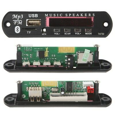 Wireless 5V MP3 WMA Decoder Board Audio Module USB TF Radio