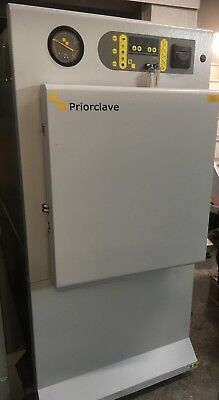 Priorclave Ps/qcs/eh150  Autoclave Front Loading 150L Less Than 12 Months Old