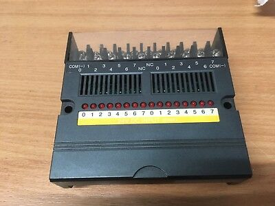 DN-116 Square D PLC Module, 16-point Input 24VDC sink, 8005 class, Used