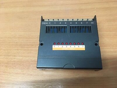 AN-108 Square D PLC Input Module, 8-function 40MA 120VAC, 8005 class, Used