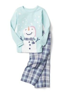 GAP BABY GIRL Flannel PJ Set pajamas NWT 3 yrs 4yrs N8 NNN