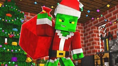 Personalized letter from SANTA Claus with MINECRAFT Christmas gifts