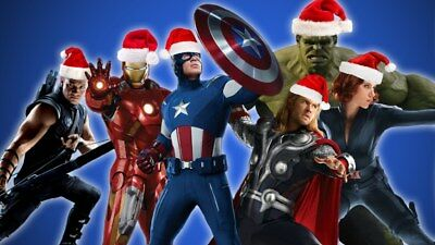 Personalized letter from SANTA Claus with AVENGERS Christmas  gifts