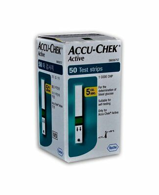 Accu-Chek Active Blood Glucose Test Strips (2 x Pack of 50)