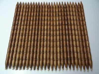"""Lot of 25 Architectural Salvage Wood Baluster Spindles 26.5"""" Furniture Repurpose"""