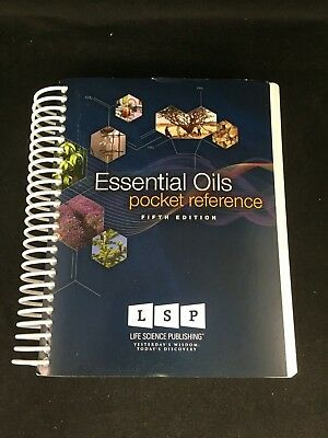 ESSENTIAL OILS POCKET REFERENCE by Gary Young 2011 5th Edition Spiral-bound