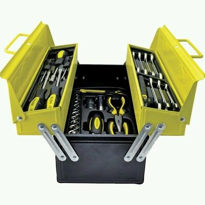 Workshop 50 Piece Tool Kit In Cantilever Toolbox