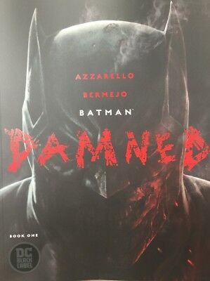 Batman Damned #1 Main Cover A First Print. Uncensored