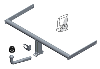 Brink Towbar for Toyota Prius Hatchback 2015-2018 - Swan Neck Tow Bar