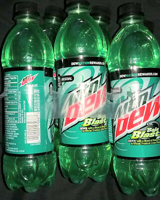 ✰✰ rare BAJA BLAST 6 PACK LIMITED RELEASE DEW ✰✰