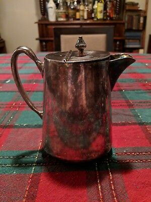 Vintage Malboro plate by Motor-Parker EPNS 615-73  Canada pitcher Teapot