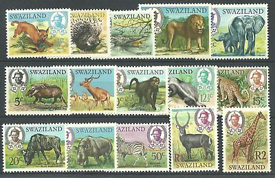 (212)Swaziland 1969 Def's Tiere,  Animals mint light hinge rest