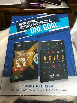 PMBOK 6th Edition+Agile Guide+Poster