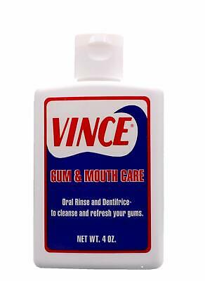 Vince Gum and Mouth Care - Oral Rinse and Dentifrice - 4 oz