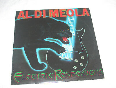 Al Di Meola Vinyl-Lp Electric Randezvous Cbs 1982 Jazz-Rock Jan Hammer Gadd