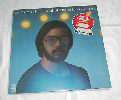 Al Di Meola Vinyl-Lp Land Of The Midnight Sun Cbs 1976 Jazz-Rock Gadd Mouzon