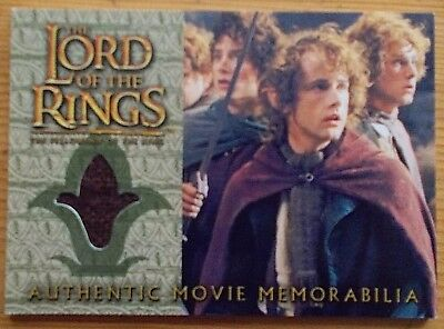 Pippin's Travel Cloak The Lord of The Rings Fellowship of The Ring trading card