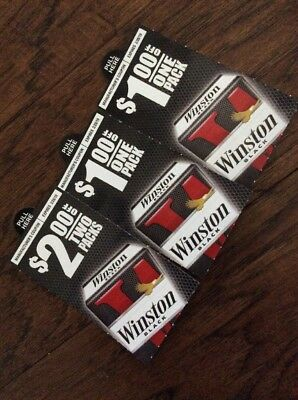 Winston Cigarette Coupons Packs $4 Worth Savings