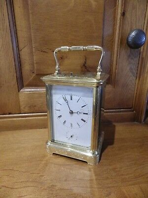 French Repeater / Alarm Fully Engraved Case Fully Restored Case Serviced 1860s