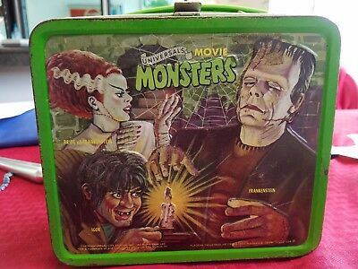 Universals Movie Monsters Lunch Box  1979