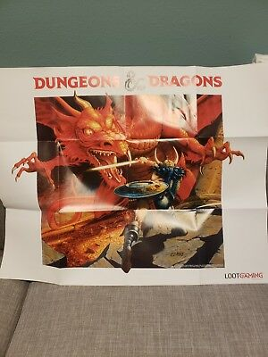 Dungeons And Dragons Loot Crate Poster