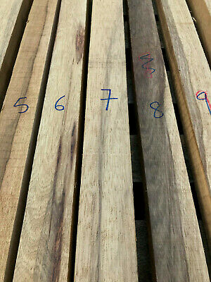 Black limba / korina long turning blanks / carving wood 760-920mm lengths