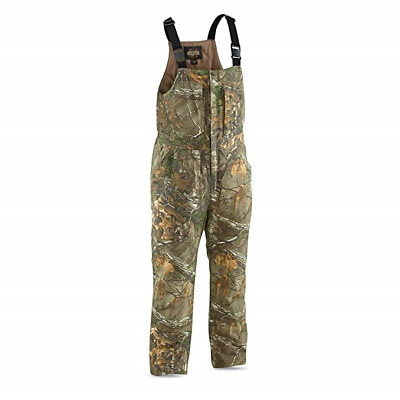 18747282b9a88 ... men s waterproof hunting bibs 200 gram camo insulated cold weather hunt  large ...