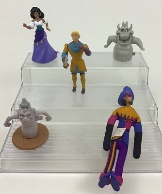 "Disney Hunchback of Notre Dame Burger King 4"" Figures 5pc Lot Vintage 90s Topper"