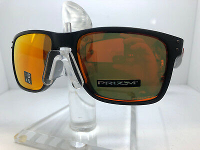 1ac526d77f Authentic Oakley Sunglasses Holbrook Xl Oo9417-04 Matte Black Prizm Ruby