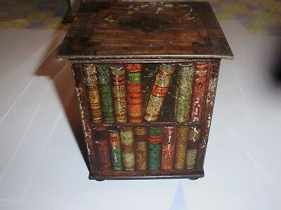 Boite Ancienne Huntley Palmers 1900  Antique Tin