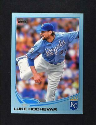 2013 Topps Wal-Mart Blue Border #167 Luke Hochevar - NM-MT